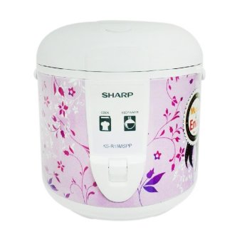 Harga Sharp KS-R18MS-PP Rice Cooker - Purple [1.8 L]