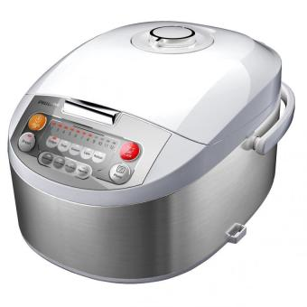Harga Philips Fuzzy Logic Rice Cooker Digital HD3038 - Putih