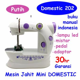 Harga Mesin Jahit Mini S2 LED / FHSM 202 LED - BEST SELLER