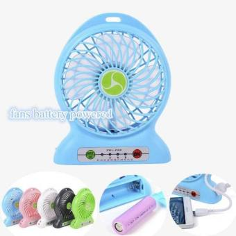 Harga Power Bank Kipas / Kipas Angin Mini Portable / Mini Fan USB Portable