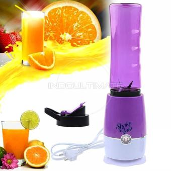 Harga Ultimate Blender Portable Shake n Take versi 3 / Botol / Tabung / Alat pembuat Jus BP-01 - Purple