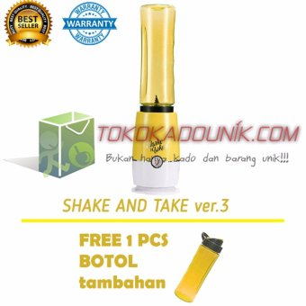 Harga Shake N Take 3 Kuning Free 1 Extra Bottle