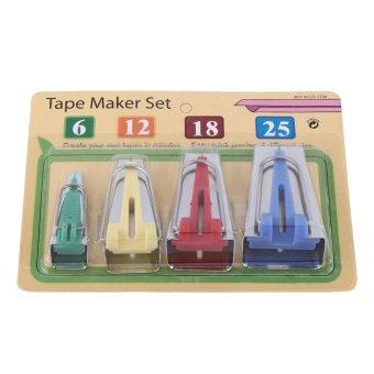 Fabric Tape Maker Set Binding Sewing Tool for Craft Making - intl