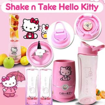 Harga Shake N Take Hello Kitty (2 Cups) Juicer Blender