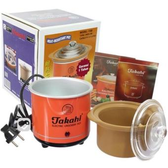 Harga Takahi Slow Cooker 0,7 Liter warna Orange Coklat