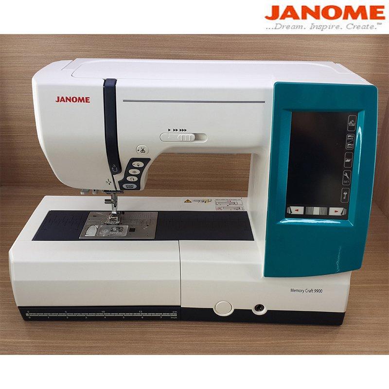 ... Janome Memory Craft 9900 Mesin Jahit Bordir Komputer dan QuiltingPortable + Gratis SJS Starter Kit ...