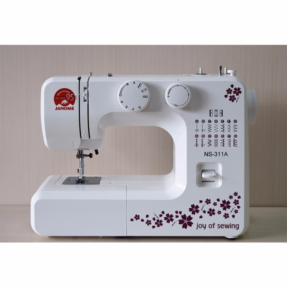 ... JANOME NS 311A Mesin Jahit +FREE SJS VIP Packages Kit ...
