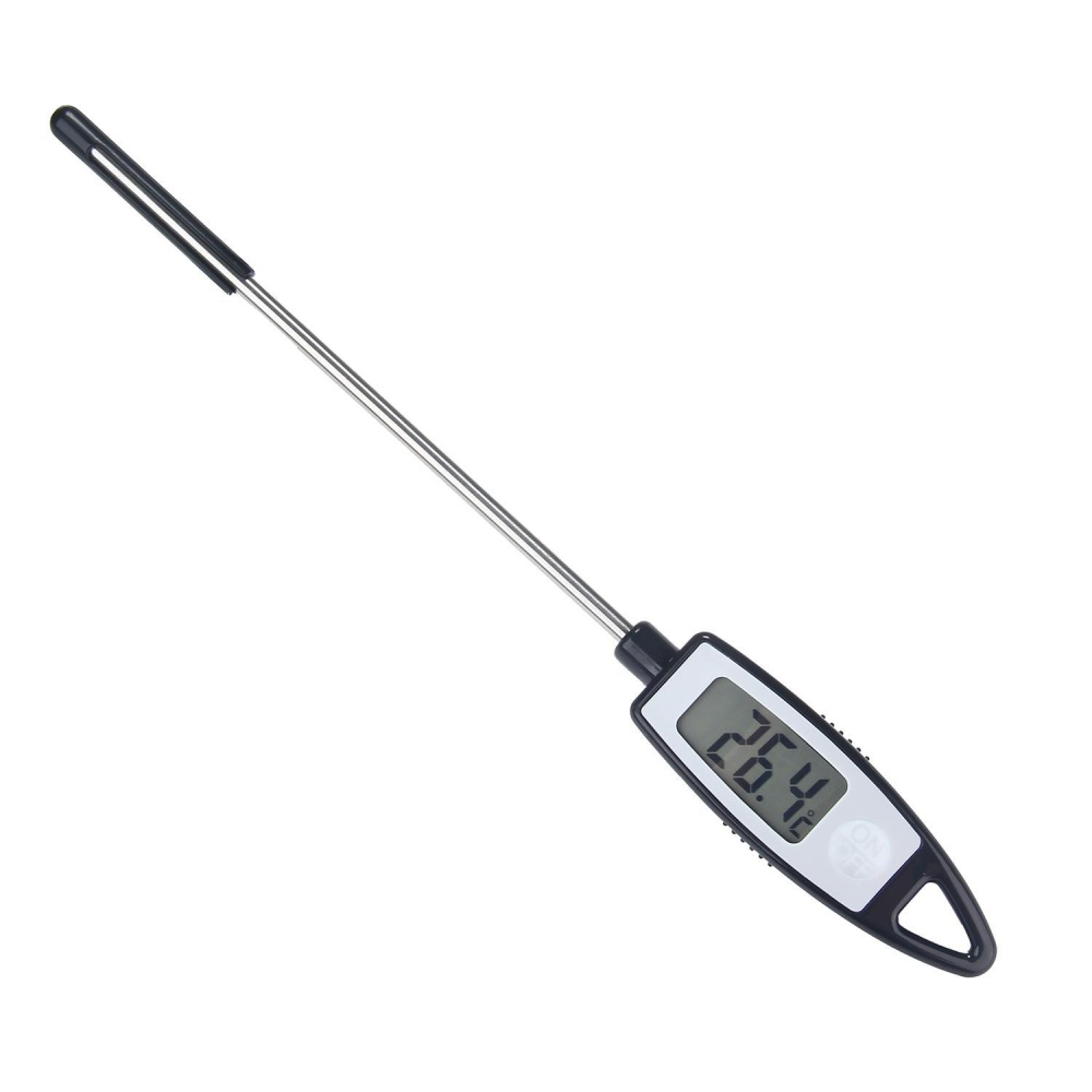 jaxuzha Kitchen Barbecue Digital Cooking BBQ Grilling MeatThermometer Cakes Coffee Probe Thermometer -