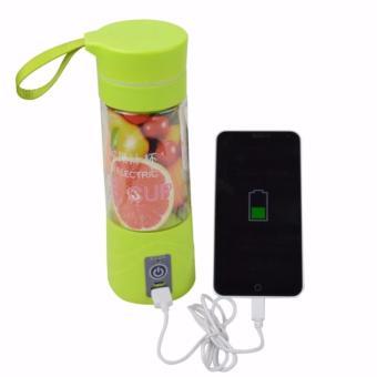 ... Bandingkan Toko Juice Cup Blender Portable Rechargeable Electric Blender Harga Termurah