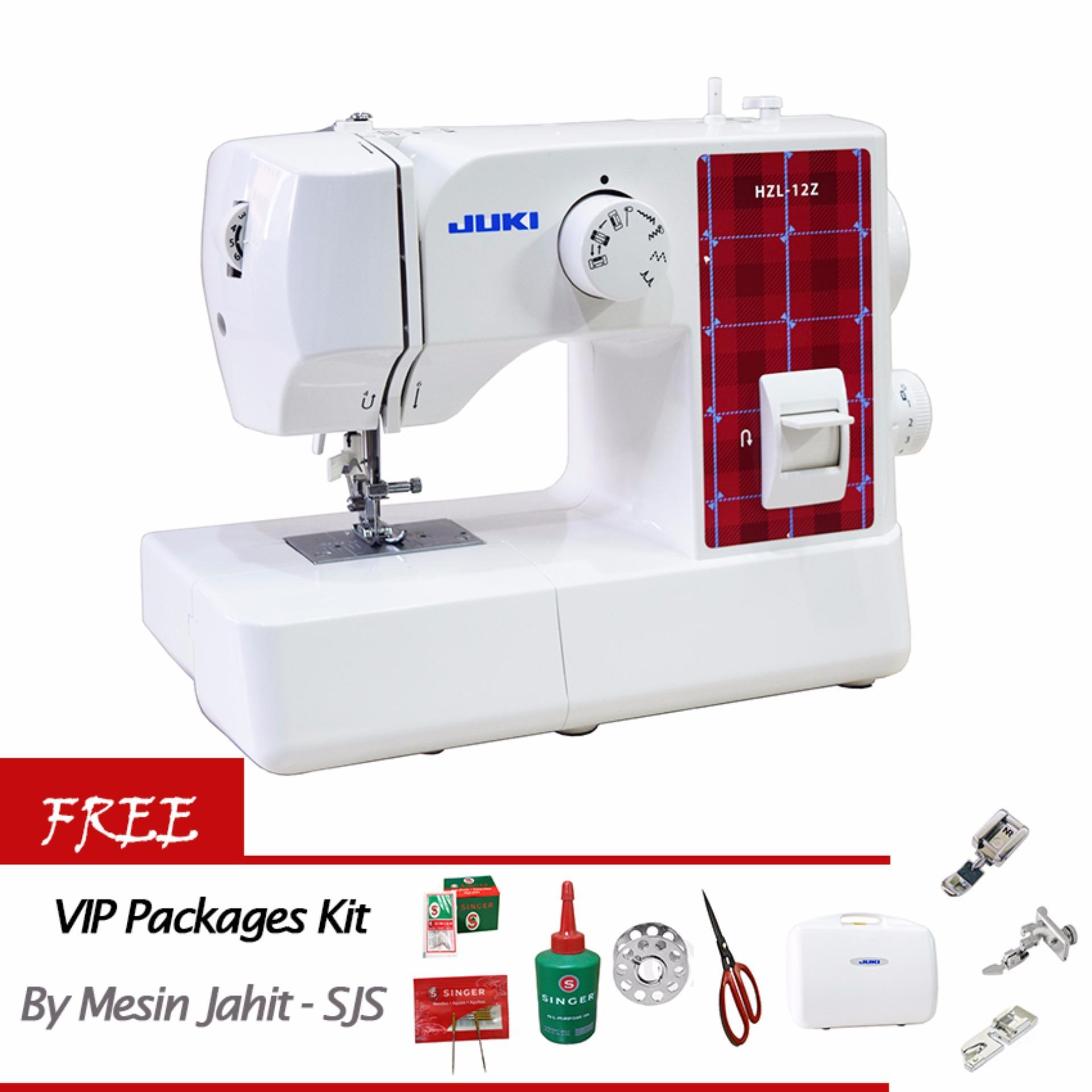 Harga Saya Juki Hzl 12z Mesin Jahit Portable Gratis Vip Packages Janome 2222 Multifungsi Kit