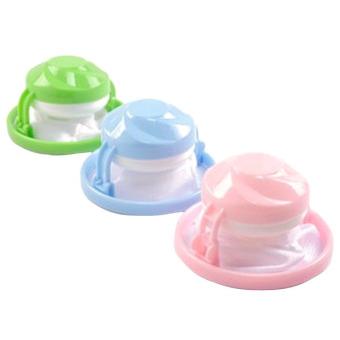 Kittymouse Pengambangan Mesin Cuci Kantong Penyaring (Berwarna Merah Muda atau Biru atau Hijau)-