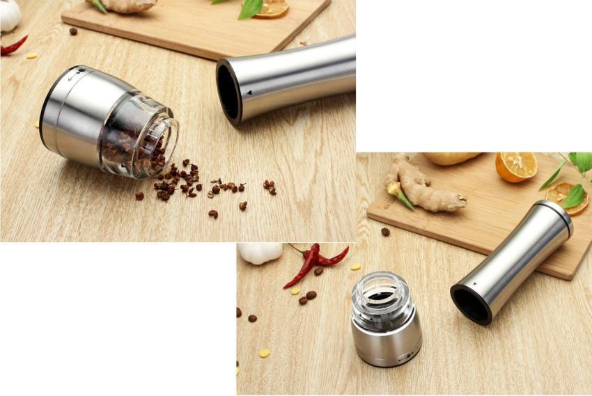 leegoal merica pabrik penggiling bumbu giling Manual penggiling baja tahan karat garam merica .