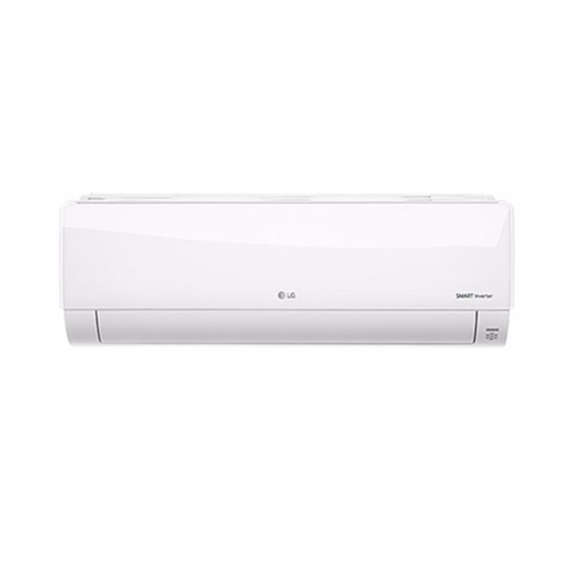 ... LG AC Standard Inverter Wall Mounted Split 3/4 PK - T08EMV - Putih Khusus ...