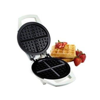 Maspion MT-205 D Waffle Maker / Pembuat Waffle Teflon Anti Lengket- Putih