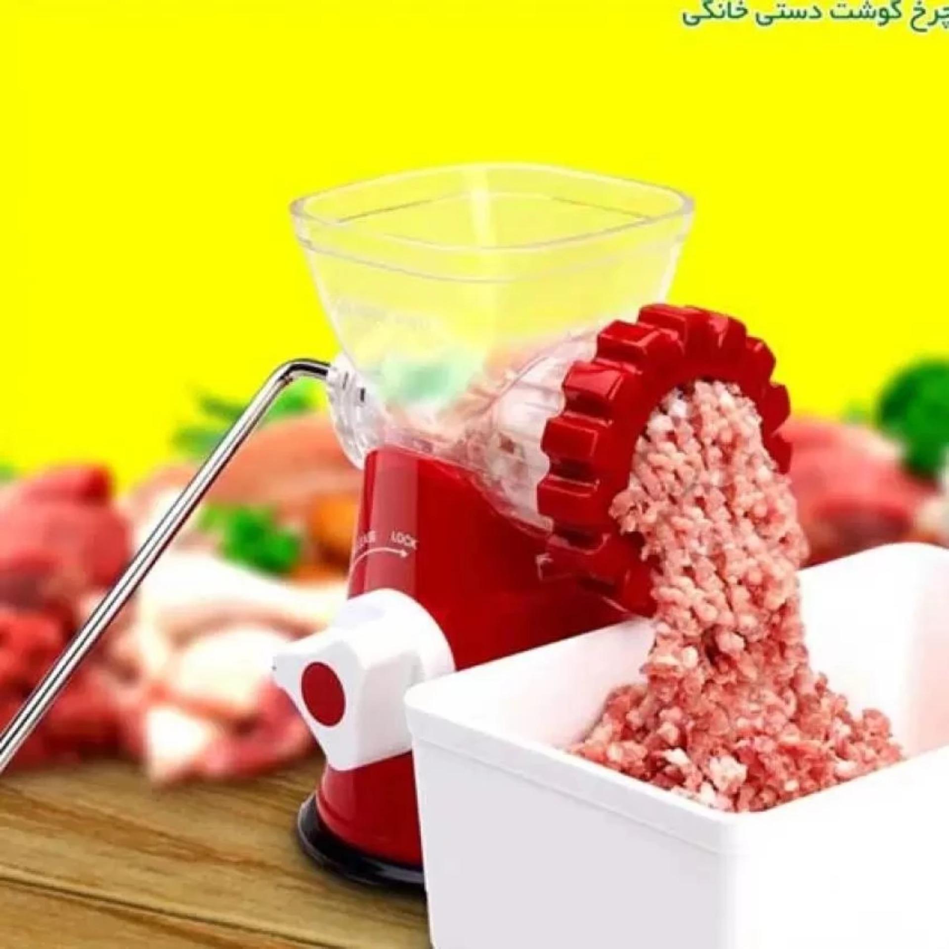 Periksa Peringkat Meat Mincer Grinder Penggiling Daging Sayuran Alat Dagingsayurbuah Manual Bumbu Merah