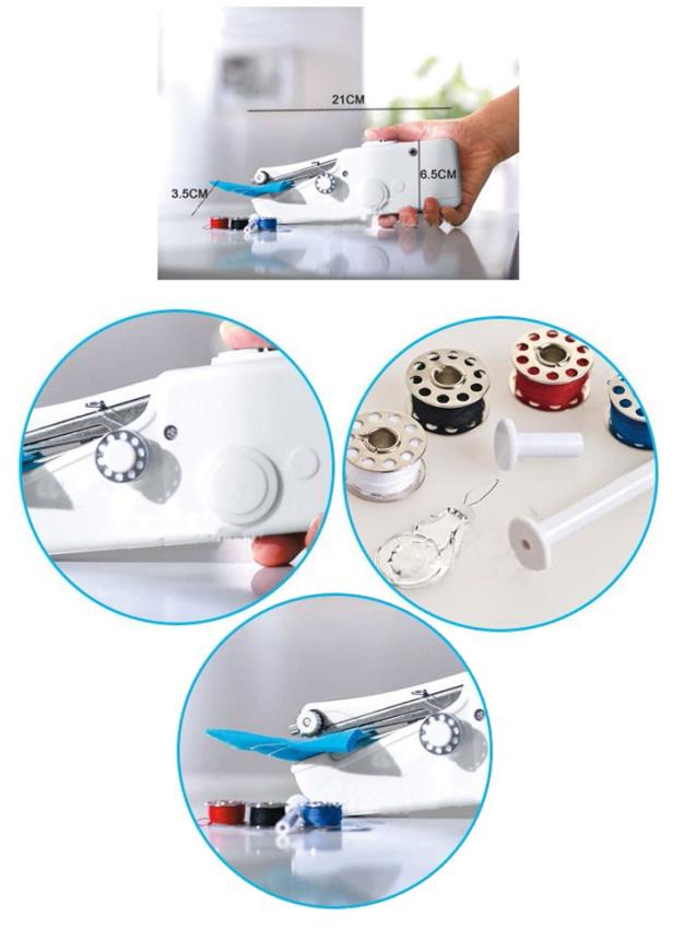 ... Universal Fhsm 202 Bm Mini Putih. Source · Mini Sewing Handheld Machine - Mesin Jahit Tangan Portable - Putih