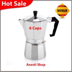 Moka Pot - Cofee Maker Alumunium Kap 6 Cups
