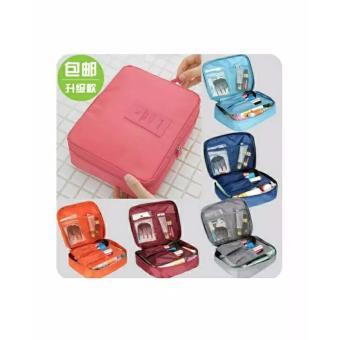 Monopoly Travel Bag / Tas Kosmetik / Cosmetic Organizer Pouch /Mumoso Bei Lian-abu