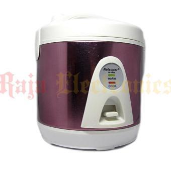 natsuper rice cooker 1liter nc-1090s ( premium stainless steel )