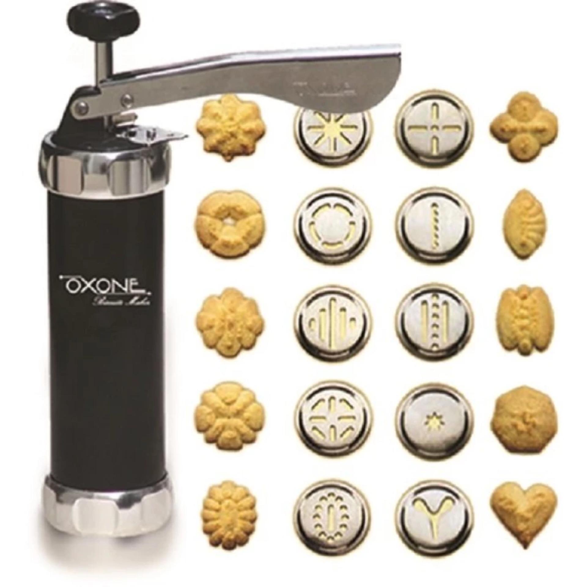 Oxone Biscuit Maker Ox 322 Alat Pembuat Kue Kering Cetakan Nagako Cookie And Silver Pencetak Biskuit