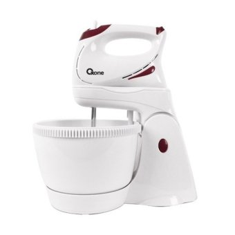 Oxone Hand Mixer with Bowl - OX 833 Putih