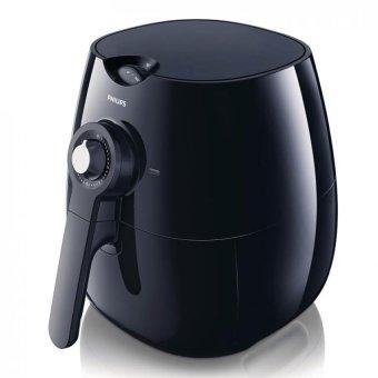 philips air fryer hd9220/20 penggorengan elektrik – hitam