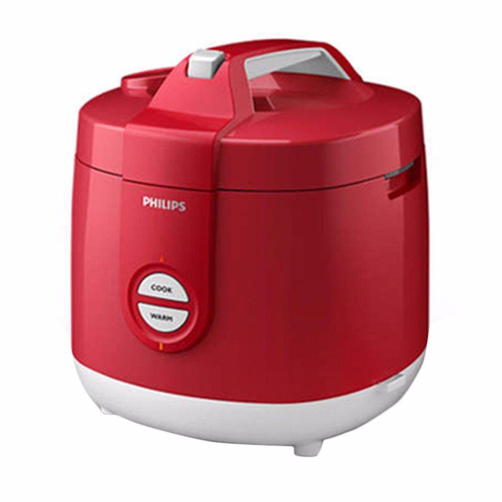 Philips HD3127/32 Rice Cooker - Merah .