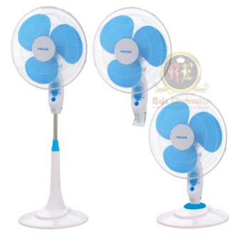 Pisces Kipas Angin Berdiri 16 inch / Stand Fan 3in1 - NT1671 (Timer Control Function )
