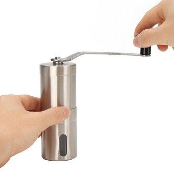 ... Portable Stainless Mill Steel Manual Coffee Bean Grinder KitchenGrinding Tool - intl - 5