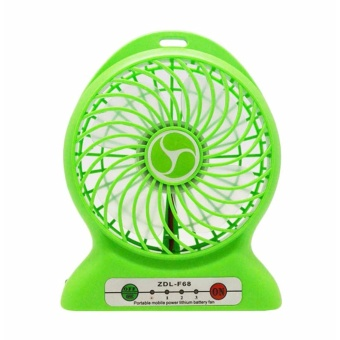 Power Bank Kipas Angin Mini Portable / Mini Fan USB Portable