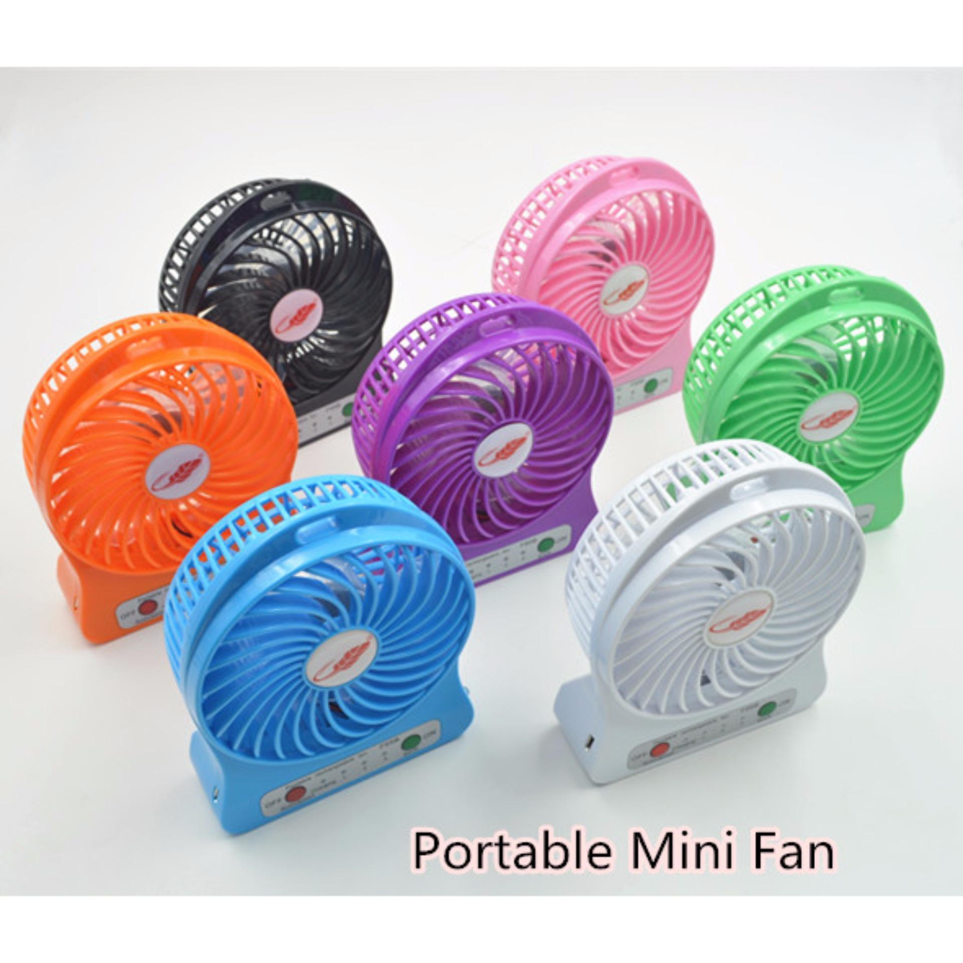 Perbandingan Harga Power Bank Kipas Angin Mini Portable Fan Powerbank Usbportable