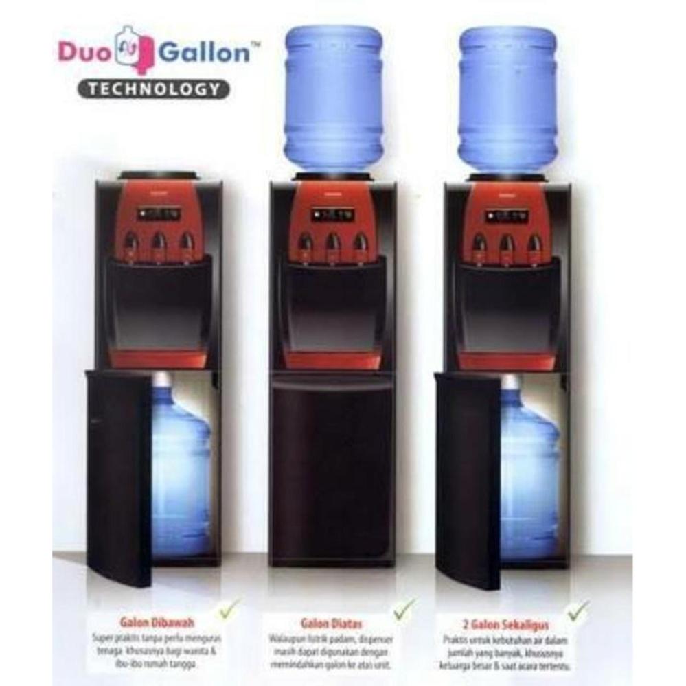 Sanken Water Dispenser Galon Bawah Hwd C150ss Hitam Khusus Modena Feroce Dd 0370 Top Loading Z88 Duo Atas