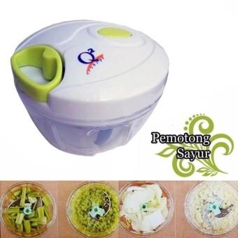 harga Toko David Q2 Mini Cutter Alat Pencacah Serbaguna Sayur / Pencacah Buah / Blender Manual / Mini Blender Lazada.co.id