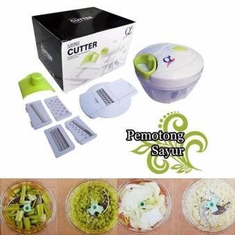 harga Toko David Q2 Mini Cutter Full Set Alat Pencacah Serbaguna Buah Dan Sayur / Pencacah Buah / Blender Manual / Mini Blender Lazada.co.id