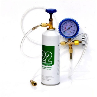 R22 Refrigeration Air Conditioning Manifold Gauge Freon HVACCharging Tools - intl