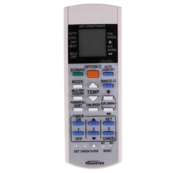 harga Remote Controller for Panasonic Air Conditioner a75c3208 a75c3706a75c3708 - intl Lazada.co.id