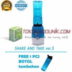 Shake N Take 3 Biru Free 1 Extra Bottle