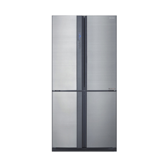 Sharp - Refrigerator 4Door 695Lt Silver