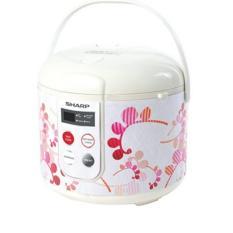 Sharp Rice Cooker KS-T18TL-RD - Merah, Touch Panel