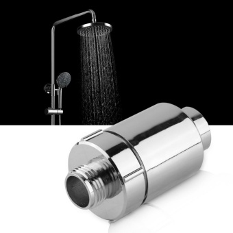 replacement water filter core for bathroom in-line shower headwater softener purifier – intl