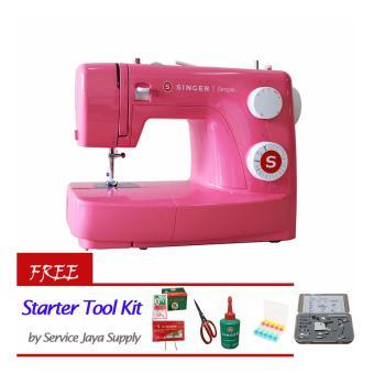 SINGER 3223R Simple Mesin Jahit +FREE Starter Kit by SJS