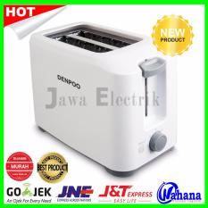 Toaster Pemanggang Roti Pop Up-DENPOO DT023D- Model Terbaru