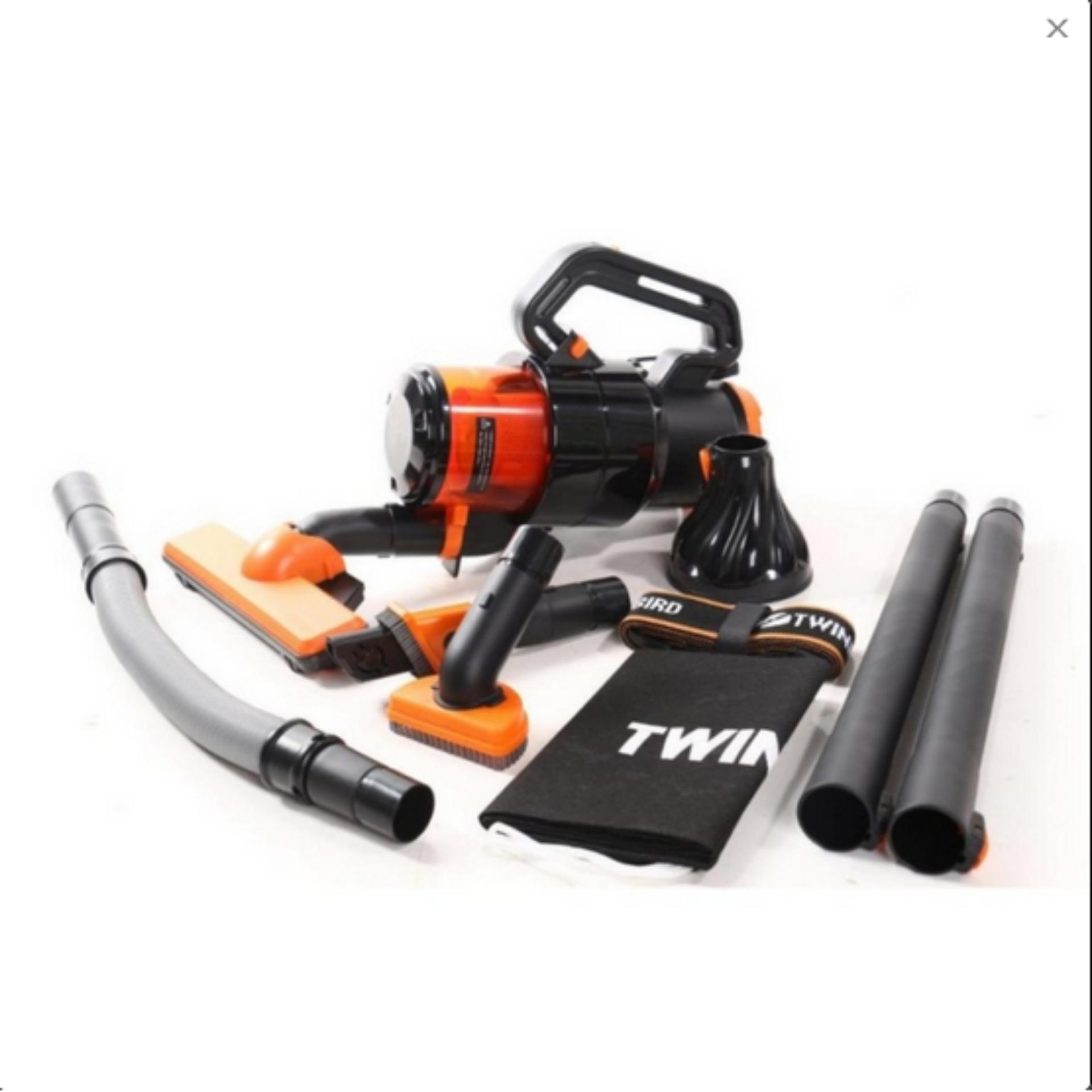 Perbandingan Harga Twinbird Vacuum Cleaner Penyedot Debu Orange 100w Mesin Hitam