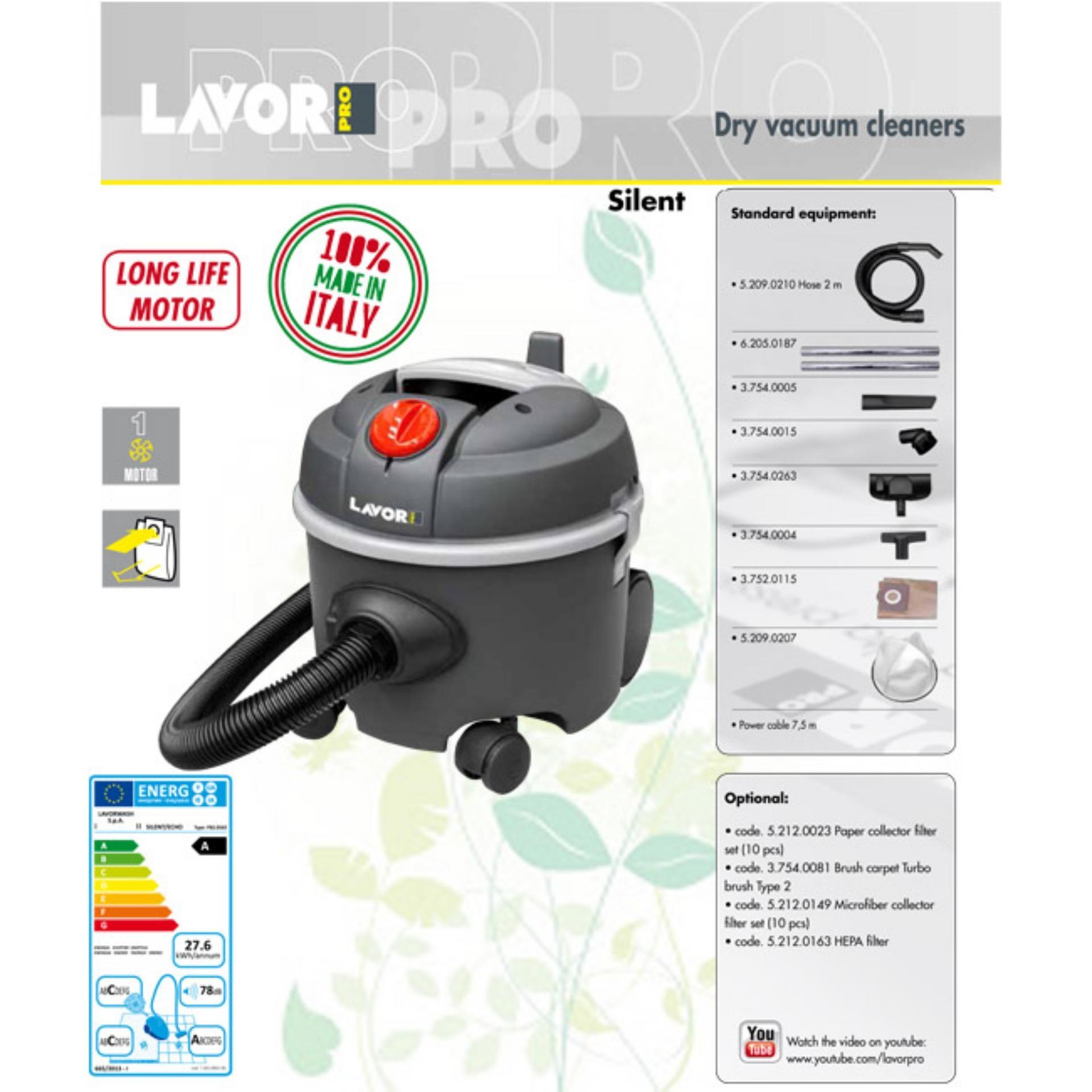 Perbandingan Harga Vacuum Cleaner Silent Lavor Pro Wet Dry Sharp And Ec Cw60 Cheap Online Made In Italy Serba Guna