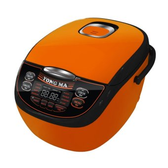 Yong Ma Magic Com,Rice Cooker,Magic Jar,Penanak Nasi 2 Liter Digital Eco Ceramic YMC116C (Garansi Resmi Yong Ma ) - Orange