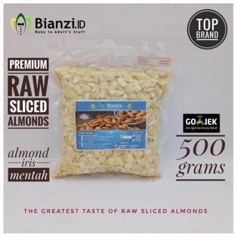 Blue Diamond Kacang Almond mentah Iris 500 gram