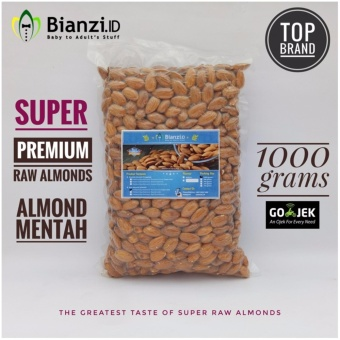 Blue Diamond Kacang Almond Mentah Super 1000 gram