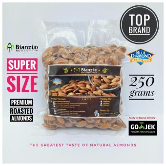 Blue Diamond Kacang Almond Panggang Super 250 gram