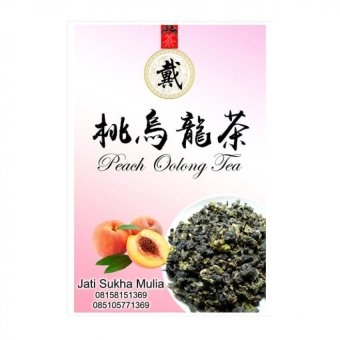 Chinese Tea Peach Oolong 50gram