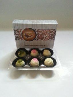 Chocolate White Truffle Mix isi 6 - Khas Chocolate